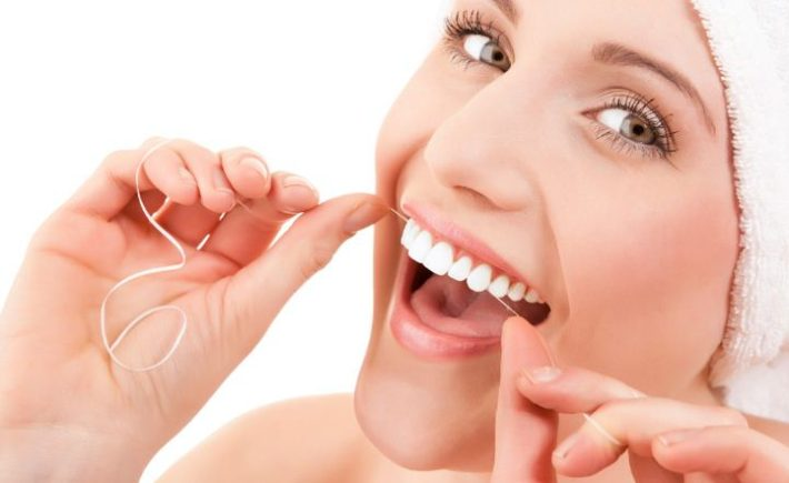 Flossing Everyday is very important to your oral healthcare.